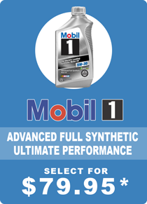 Mobil 1 Full Synthetic Oil Change